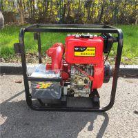 柴油机4寸水泵 应急排水抽水泵