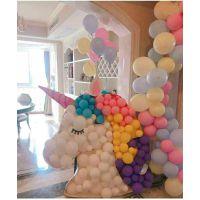 长株潭宝宝满月宴布置-满月宴气球装饰设计,宝宝生日宴策划
