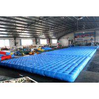义乌加厚 网红桥 安全pvc气垫厂家
