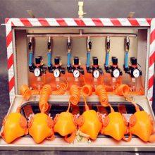 ZYJ(A)煤矿用压风供水自救器硅胶面罩