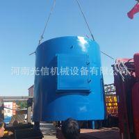 无烟原木炭化炉 优质木材炭化设备 吊装连续式炭化炉 环保炭化炉
