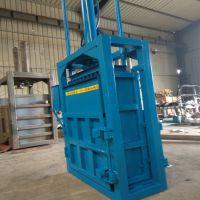 生产大吨位立式打包机 鸡毛扎捆压包机 针织绒挤包机型号