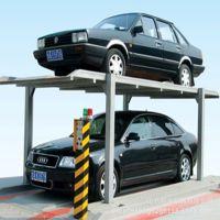 双柱两层轿车停车库电动立体车库停车设备停车举升机立体横移式