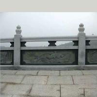 供应园林汉白玉石雕栏杆 荷花莲叶雕刻栏板