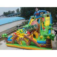 180平方蜘蛛侠大型充气滑梯大型滑梯游乐玩具