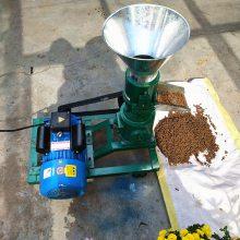 供应农作物秸杆饲料造粒机 小型兔饲料颗粒机