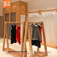 广州锐力供应爱衣服女装货架展示架设计与定制