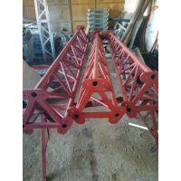铝合金方型独角抱杆内悬浮提升式冲天抱杆独脚拔杆鼎力欢迎采购