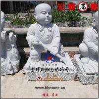 白麻石小沙弥雕像(春夏秋冬四样式)