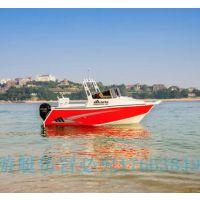 5.93米高速铝合金快艇厦门高档豪华游艇专业加厚铝合金海钓钓鱼船
