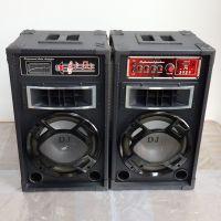 10寸DJ有源蓝牙带灯音箱户外商业店铺宣传舞蹈民用音响对箱
