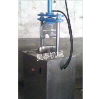昊泰HT-PBJ 全自动 液压猪头留脑劈半机 猪蹄去毛机洗猪蹄机剁骨机小型机器