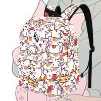 动漫周边夏目友人帐学生双肩包猫老师斑背包书包潮流双肩背包