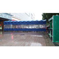 专业定做镀锌管餐饮大排档雨棚上门量尺大型帆布仓储蓬推拉遮阳棚