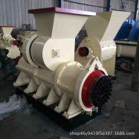 空心煤棒机厂家现货 炭粉煤泥高压制棒机 梅花形六棱型秸秆制棒机