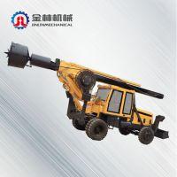 山东省济宁新品促销轮式旋挖钻机 小型旋挖钻机