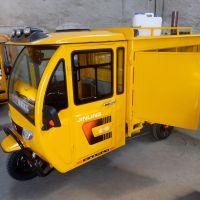 长期供应市政工程用多功能蒸汽清洁机 三轮车式蒸汽洗车机 配备吸尘器