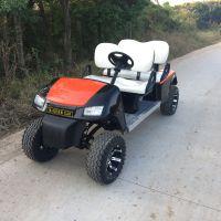 供应AS-004高尔夫球场4人电动高尔夫代步车无顶棚