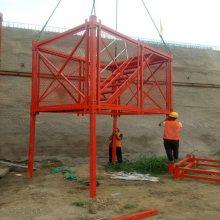 南通桥梁安全笼梯生产厂家安全防护网门式爬梯品质保证