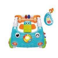 新品宝宝多功能学步车三合一音乐遥控手推车婴幼儿早教助步车玩具