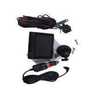 吸盘支架 汽车录像机倒车摄像头 双透镜高清1080  黑色通用
