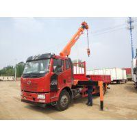 北京一汽解放J6L 4X2 6.8米随车吊运输车专卖销售