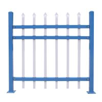 组装式围墙护栏 方管围墙护栏 围墙铁栏杆 铁艺护栏厂家