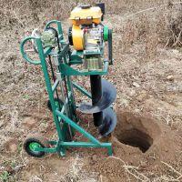可调节手柄挖坑机 宇佳大棚手提便携式打眼机 种树植树造林树坑机