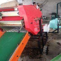 牧草收割打捆机 玉米稻草秸秆打包机 全自动打捆包膜一体机