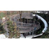 原生态树屋滑梯 不锈钢旋转滑梯 商场办公室滑滑梯 儿童游乐设备 北京同兴伟业直销定制
