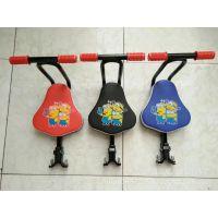 自行车前置折叠快拆座椅电动车前置安全座椅宝宝座椅厂家直销座椅
