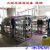 10吨双级饮料行业用反渗透纯净水设备 大型水处理设备 离子交换设备