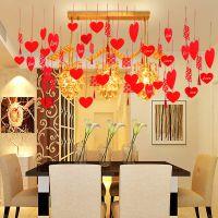 婚庆用品拉花新房婚房布置装饰品婚礼客厅卧室韩式浪漫结婚拉花