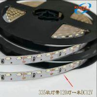 LED335侧发光软灯带 高亮一米120珠 单排 LED灯条 DC12V 低压