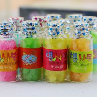 十二星座漂流瓶糖果 创意学生礼品 新奇特圣诞节平安夜礼物厂家