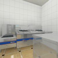 大同单位工厂公司百人职工食堂厨房设计装修效果图