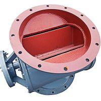 YJD星型卸料器实恒常温铸铁碳钢圆口防爆电动卸灰阀厂家定制