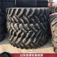 前进加密花纹R-1S 耐刺扎轮胎14.9-26 大马力拖拉机轮胎
