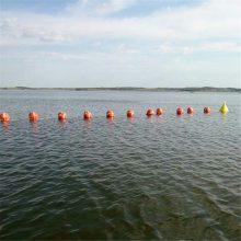 自来水公司专业水源地拦船浮标 取水口拦污浮体