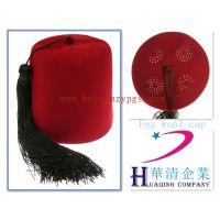 羊毛流苏菲斯帽 wool Fez cap / 土耳其打孔羊毛帽 Turkish wool cap