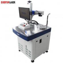 电子产品全自动激光打标机电容电阻小字符光纤激光打码机