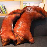 大猪蹄子搞怪创意个性抱枕仿真猪蹄靠垫午睡卡通趴睡午休枕头女生
