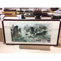 深圳南山科技园哪里有书画装裱画框工厂 装裱镜框实木框南山店