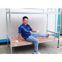 爱烽6一体折叠床 双层上下铺 学校工地公司集体宿舍用床 镀锌管材制作简约风格