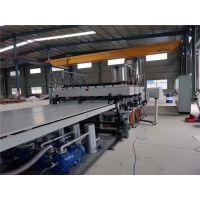 中瑞PP中空塑料建筑模板单螺杆板材挤出机设备