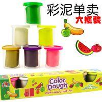 2443彩泥配件-6色混装创意橡皮泥儿童过家家益智玩具热销批发 440