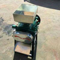 生产对辊式的粮食挤扁机 专业生产厂家