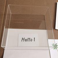 杭州亚克力无盖透明亚克力盒展示盒子收纳有机玻璃模型汽车乐高零件玩具防尘罩