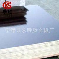 耐腐蚀建筑模板工地混凝土支撑覆膜黑色建材木工板多层工程模板