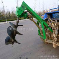 液压打洞机 新款柴油拖拉机挖坑机厂家